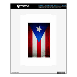 Puerto Rico Flag Skin For NOOK