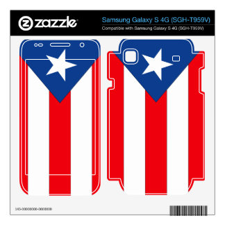 Puerto Rico Flag Samsung Galaxy S 4G Skin