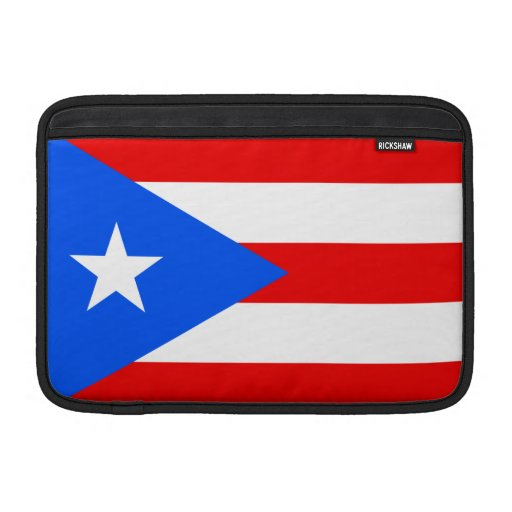 Puerto Rico Flag Sleeves For MacBook Air