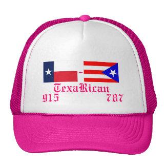 puerto_rico_flag, TexasFlag, TexaRican, 915    ... Trucker Hats
