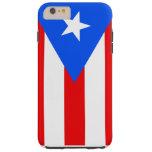 Puerto Rico flag Tough iPhone 6 Plus Case