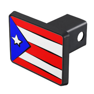 Puerto Rico Flag Tow Hitch Cover