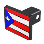 Puerto Rico Flag Trailer Hitch Cover