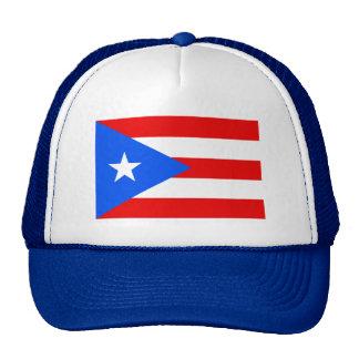 Puerto Rico flag trucker hat | Puerto Rican pride Hats