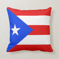 Puerto Rican Throw Pillows