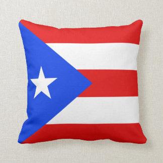 Puerto Rico Flag x Flag Pillow