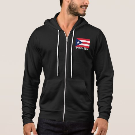 Puerto Rico fleece jacket