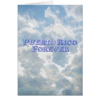 Puerto Rico Forever - Bevel Basic Card
