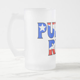 Puerto Rico Frosted Mug