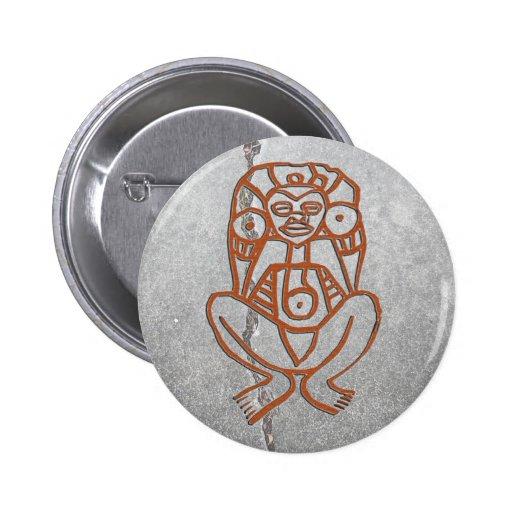 Puerto Rico - goddess Pinback Buttons