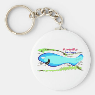Puerto rico Gran Canaria Souvenirs Keychain