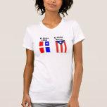 puerto-rico-grande-bandera, lares, EL del EL       Camisetas
