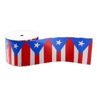 Puerto Rico Grosgrain Ribbon