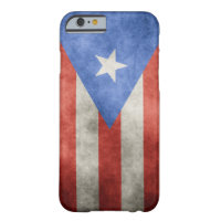 Puerto Rico Grunge Flag Barely There iPhone 6 Case