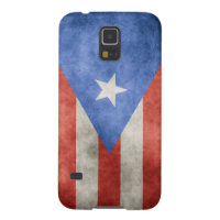 Puerto Rico Grunge Flag Case For Galaxy S5