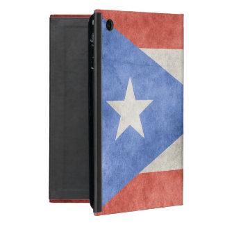 Puerto Rico Grunge Flag Cover For iPad Mini