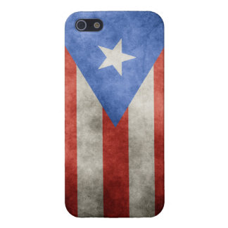 Puerto Rico Grunge Flag Cover For iPhone SE/5/5s