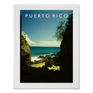 Puerto Rico, Guajataca, Isabela Póster