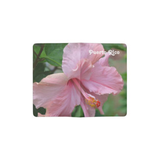 Puerto Rico Hibiscus Pocket Moleskine Notebook Cover With Notebook