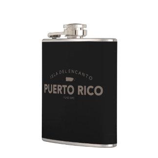 Puerto Rico Hip Flasks