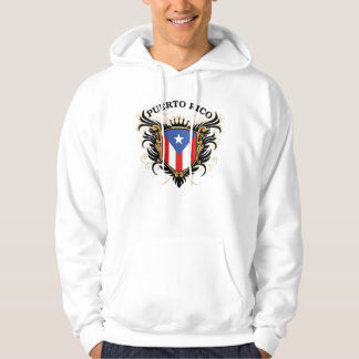 Puerto Rico Hooded Pullover