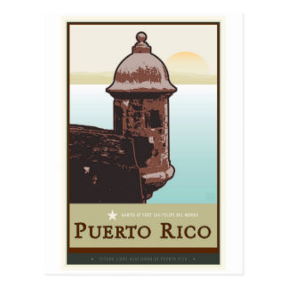 Puerto Rico I Tarjeta Postal