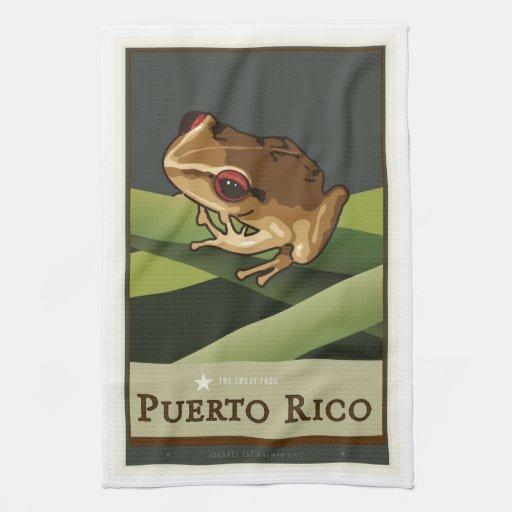 Puerto Rico II Toalla De Cocina