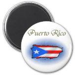 Puerto Rico Imán Redondo 5 Cm