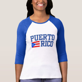 PUERTO RICO Inspired Graphic Tee