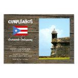 Puerto Rico Invitación 8,9 X 12,7 Cm