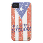 Puerto Rico iPhone 4 Case-Mate Protectores