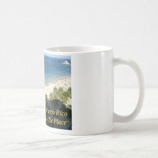 Puerto Rico Is The Place Coffee Mugs