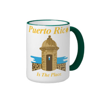 Puerto Rico Is The Place Mug