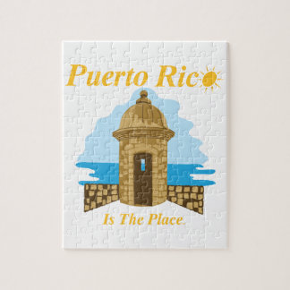 Puerto Rico Is The Place Puzzle