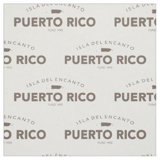Puerto Rico Isla del Encanto Fabric