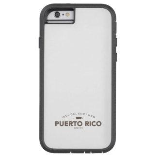 Puerto Rico Isla del Encanto Funda De iPhone 6 Tough Xtreme