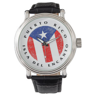 Puerto Rico Isla del Encanto Watch Reloj De Mano