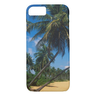 Puerto Rico, Isla Verde, palm trees iPhone 7 Case
