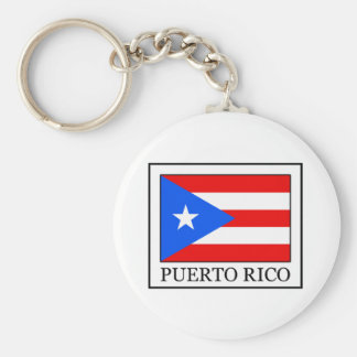 Puerto Rico keychain