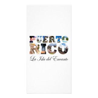 Puerto Rico La Isla Del Encanto Collage / Montage Card