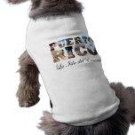 Puerto Rico La Isla Del Encanto Collage / Montage Pet Shirt