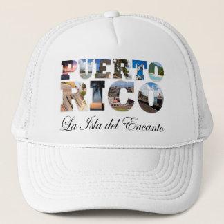 Puerto Rico La Isla Del Encanto Collage / Montage Trucker Hat