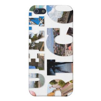 Puerto Rico La Isla Del Encanto Collage/montaje iPhone 5 Fundas