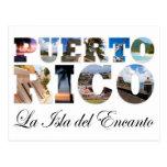 Puerto Rico La Isla Del Encanto Collage Post Cards
