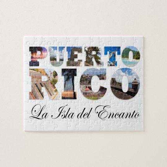 Puerto Rico La Isla Del Encanto Jigsaw Puzzle