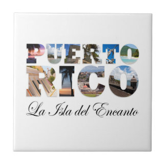 Puerto Rico La Isla Del Encanto Tile