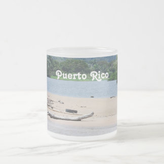 Puerto Rico Landscape 10 Oz Frosted Glass Coffee Mug