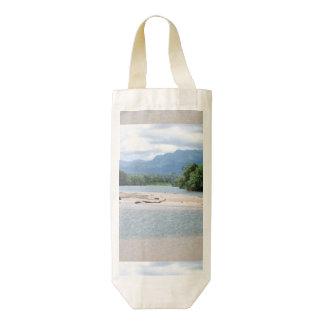 Puerto Rico Landscape Zazzle HEART Wine Bag