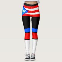 Puerto Rico Leggings
