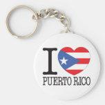 Puerto Rico Love v2 Keychains